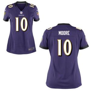Chris Moore Baltimore Ravens Women's Game Nike Jersey
